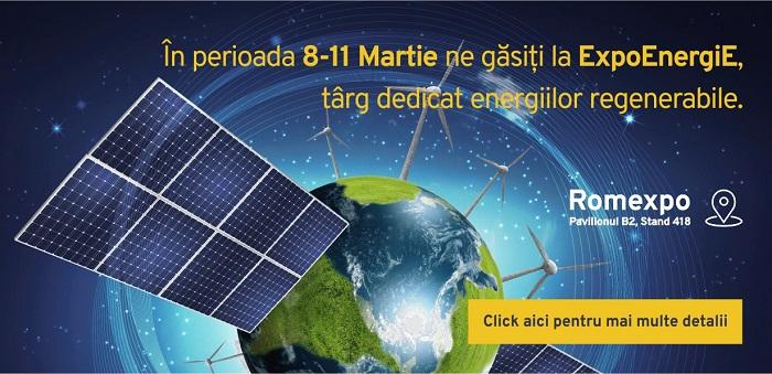 Wattrom vă invită la ExpoEnergiE 2018!, târg dedicat energiilor regenerabile